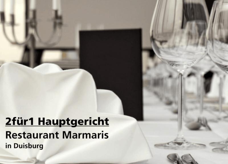 2für1 Gutschein - Restaurant Marmaris - Nach Ausdruck maximal 30 Tage gültig!!!