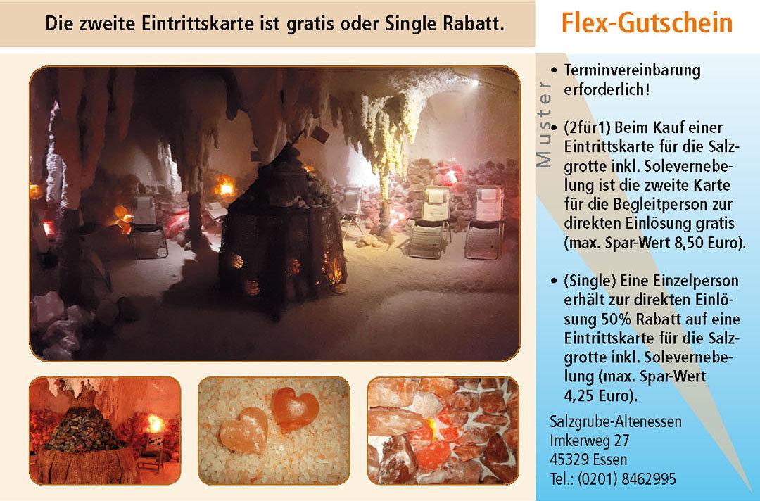 2 für 1 Gutschein Ruhrgebiet Salzgrube Altenessen