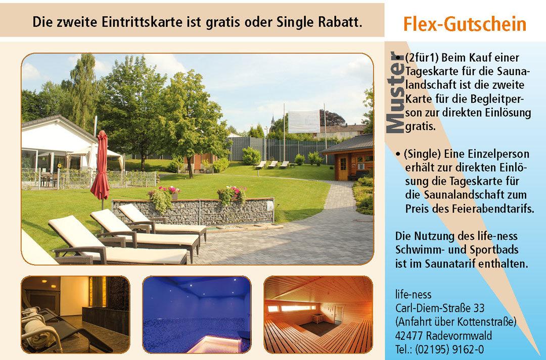 Sauna Gutscheine Ruhrgebiet life-ness