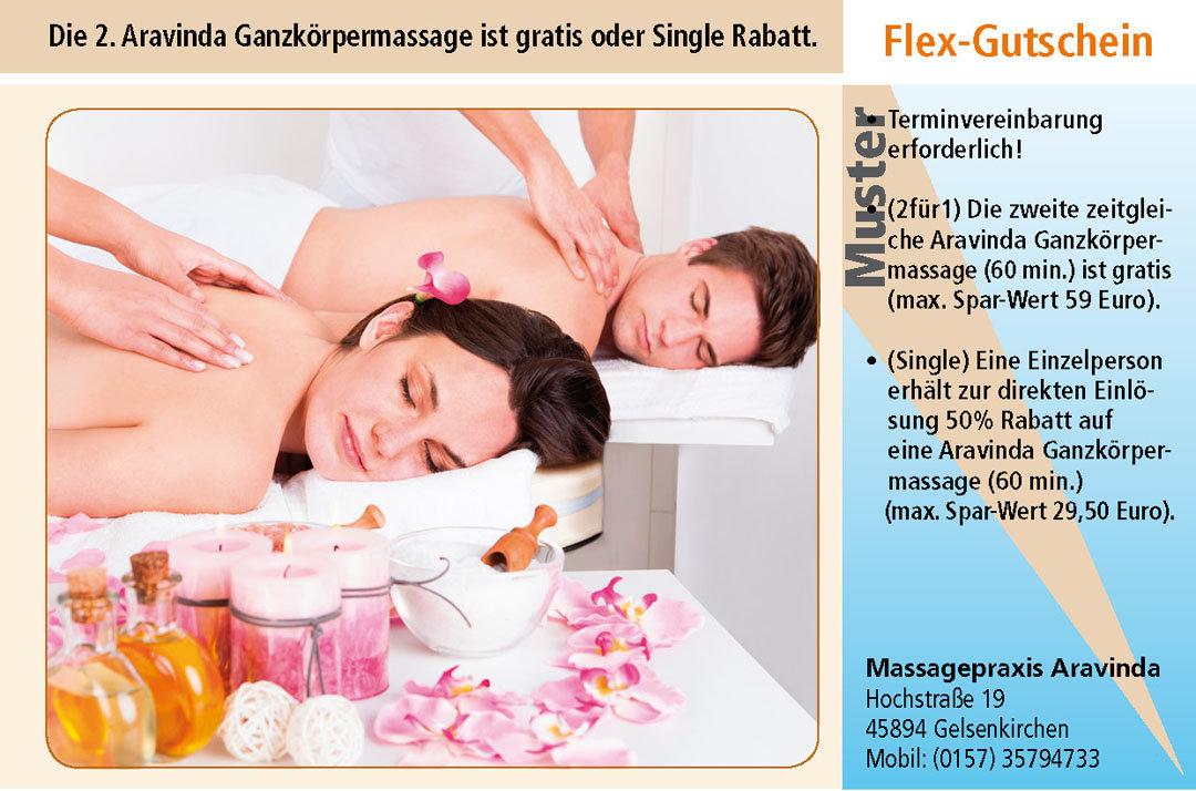 Massage Gutschein Ruhrgebiet Gelsenkirchen