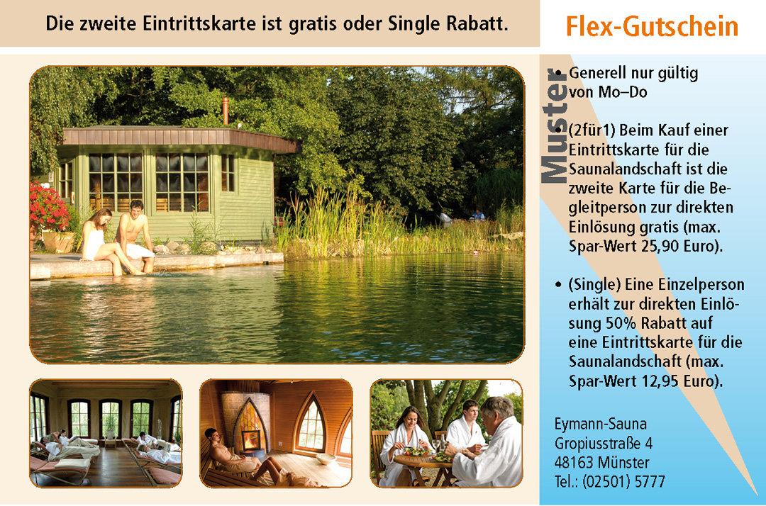 2 für1 Gutschein-Ruhrgebiet-Eymann-Sauna-Muenster