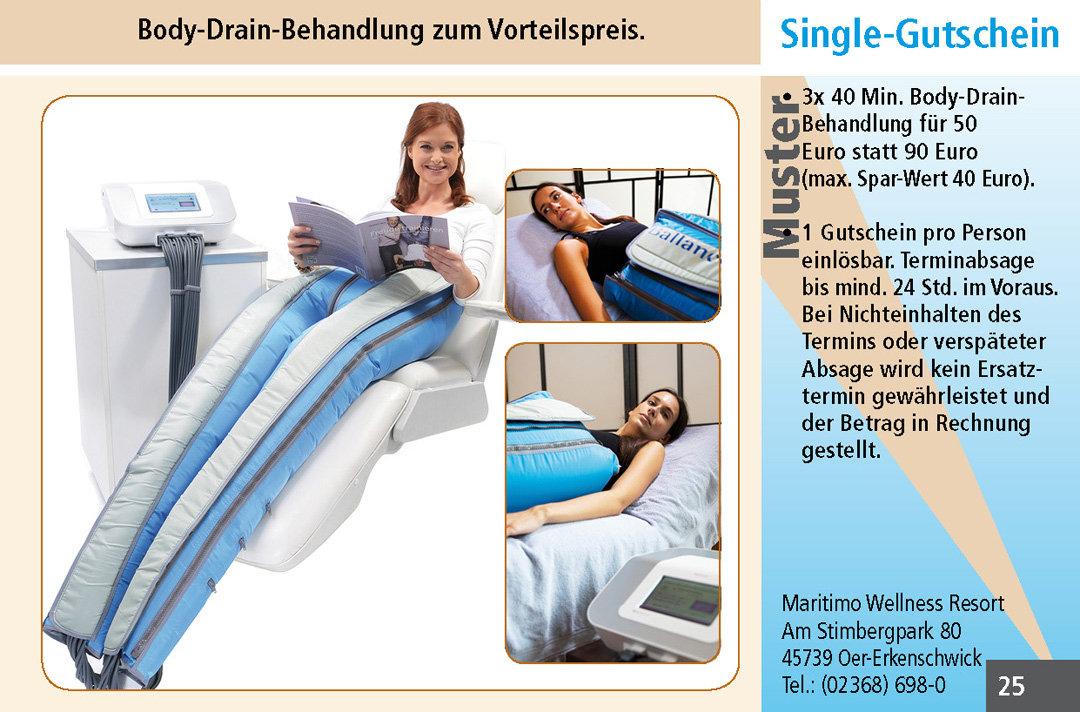 2 für 1 Gutschein-Ruhrgebiet-Maritimo-Wellness-Resort-Gutschein-Body-Drain