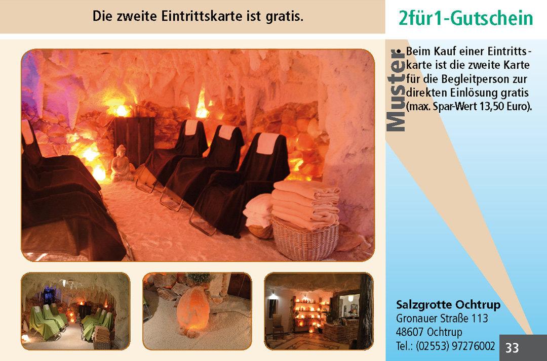 2 für 1 Gutschein-Ruhrgebiet-Salzgrotte-Ochtrup