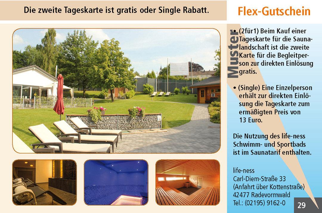 2 für 1 Gutschein-Ruhrgebiet-Sauna-life-ness-Radevormwald