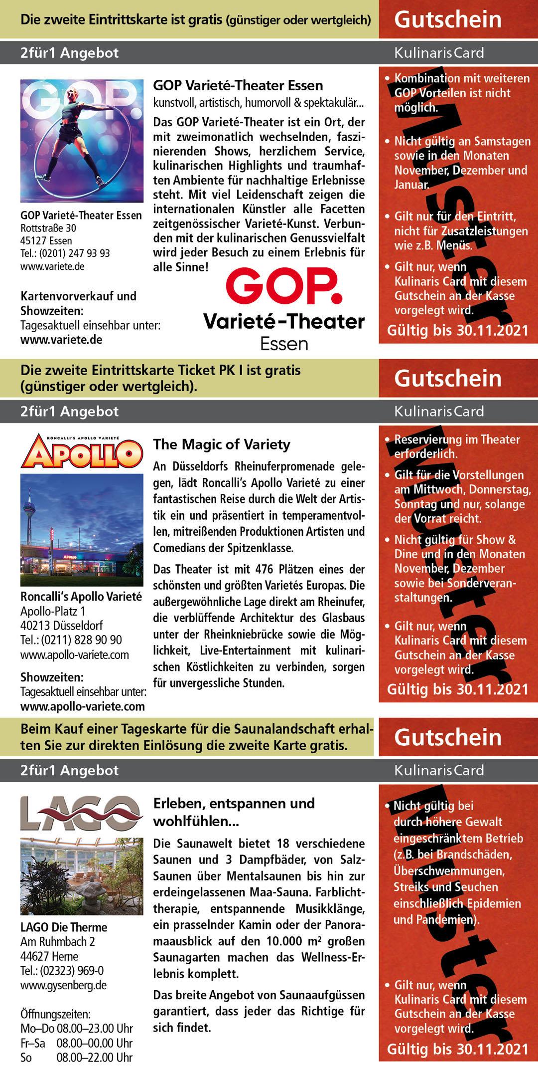 Roncalli's Apollo Varieté www.apollo-variete.com